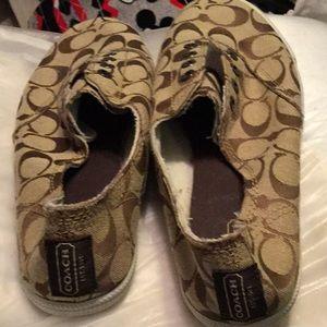 Size 10 Coach Tennis shoe